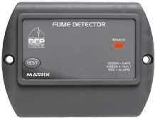 BEP GAS FUME DETECTOR Complete with 5M SENSOR.  Incl. VAT